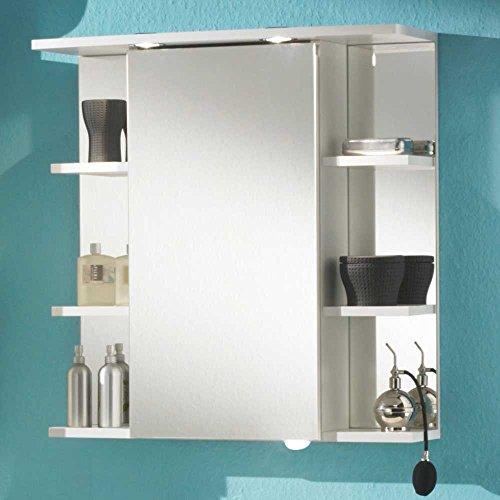 bad spiegelschrank rom in wei pharao24 m bel24 shop xxxl. Black Bedroom Furniture Sets. Home Design Ideas
