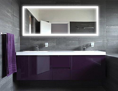 badspiegel mit beleuchtung new york m303l4 design spiegel. Black Bedroom Furniture Sets. Home Design Ideas