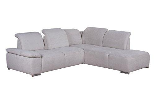 cavadore polsterecke tabagos ecksofa mit ottomane rechts modernes sofa mit. Black Bedroom Furniture Sets. Home Design Ideas