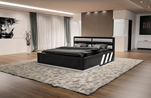 designerbett apollonia wasserbett komplett set mit led. Black Bedroom Furniture Sets. Home Design Ideas