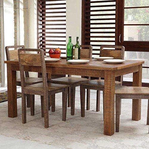 Esszimmertisch aus altem Holz 160 cm Pharao24