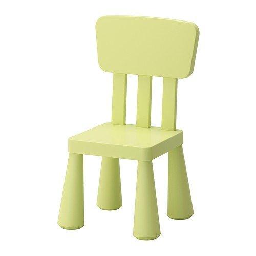 IKEA MAMMUT Kinderstuhl in hellgrün