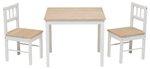 Original IMPAG® Kinder-Sitzgruppe mit Qualitäts-Beschlag | Nordische Fichte |Ergonomisch |Top Möbel-Qualität