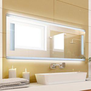 krollmann badspiegel mit beleuchtung modern ohne rahmen mit touch sensor spiegel beleuchtet. Black Bedroom Furniture Sets. Home Design Ideas