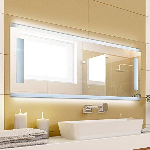 krollmann badspiegel mit beleuchtung modern ohne rahmen. Black Bedroom Furniture Sets. Home Design Ideas