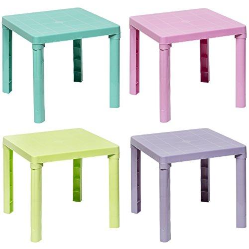"""Kindertisch Schreibtisch Kinder Spieltisch Kinderzimmer """"4 tolle Farben"""""""