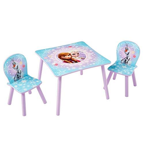 Kindertisch mit Stühlen, Maltisch - Anna und Elsa, Eiskönigin