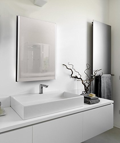 led badezimmerspiegel mit touch sensor 50 x 70 cm 1592ft. Black Bedroom Furniture Sets. Home Design Ideas