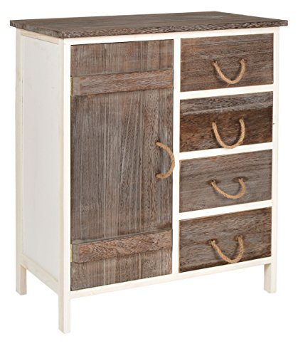 Landhaus kommode flur bad schrank bi color regal in zwei - Bad kommode holz ...