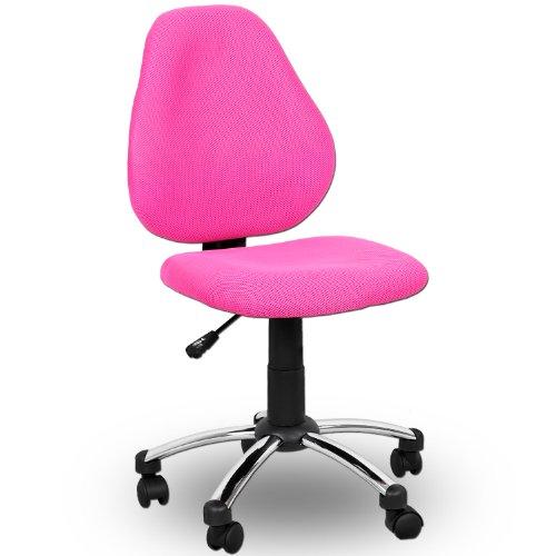 Miganeo Premium-Kinderstuhl pink-rosa Drehstuhl für Kinder 080810