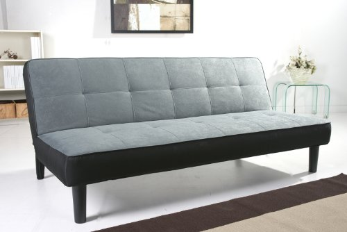 paulo schlafcouch stoff grau schlaffunktion sofa 0 m bel24. Black Bedroom Furniture Sets. Home Design Ideas