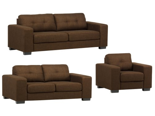 Polstergarnitur Polstermöbel Leo Sofagarnitur Sofacouch Couch Polster Sofa 3-2-1 Couchgarnitur