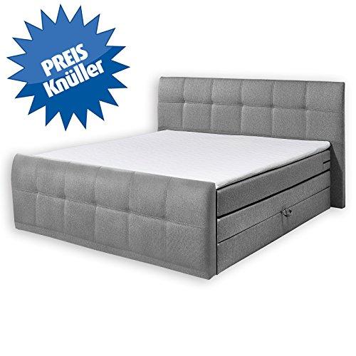 roller boxspringbett sacramento grau taschenfederkern 180 x 200 cm 0 m bel24 shop xxxl. Black Bedroom Furniture Sets. Home Design Ideas
