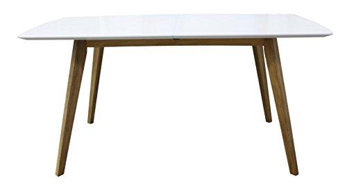 tenzo 2184 001 bess designer esstisch tischplatte mdf lackiert matt untergestell massiv 75 x. Black Bedroom Furniture Sets. Home Design Ideas