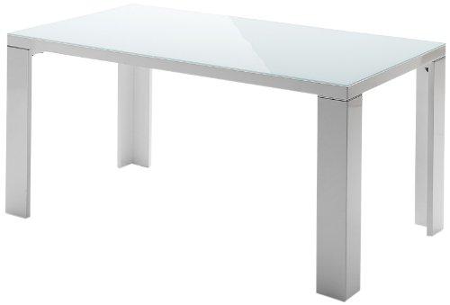 robas lund tisch esszimmertisch tizio hochglanz wei 140 x 76 x 90 cm 043140hw m bel24. Black Bedroom Furniture Sets. Home Design Ideas