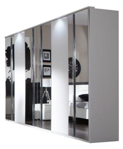 wimex 734581 kleiderschrank 270 x 210 x 58 cm mit 4. Black Bedroom Furniture Sets. Home Design Ideas