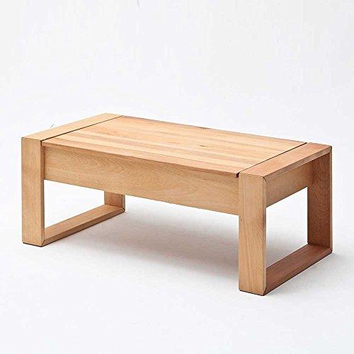 wohnzimmertisch aus kernbuche massivholz h henverstellbar pharao24 m bel24. Black Bedroom Furniture Sets. Home Design Ideas
