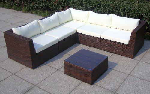baidani design rattan lounge garnitur surprise 0 m bel24. Black Bedroom Furniture Sets. Home Design Ideas