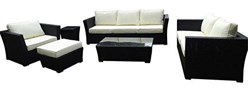 baidani gartenm bel garnitur treasure schwarz m bel24 shop xxxl. Black Bedroom Furniture Sets. Home Design Ideas