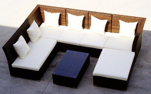 baidani rattan lounge sitzgruppe thunder 0 m bel24. Black Bedroom Furniture Sets. Home Design Ideas