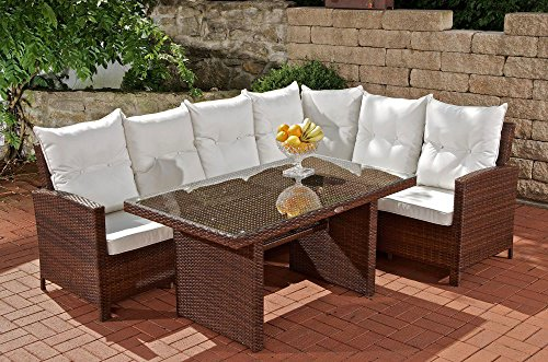 clp poly rattan garten sitzgruppe minari mit tisch. Black Bedroom Furniture Sets. Home Design Ideas