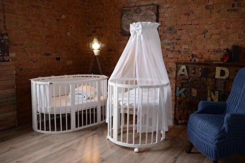 comfortbaby smartgrow 7in1 baby kinderbett erweiterbar multifunktionell aus massivholz. Black Bedroom Furniture Sets. Home Design Ideas