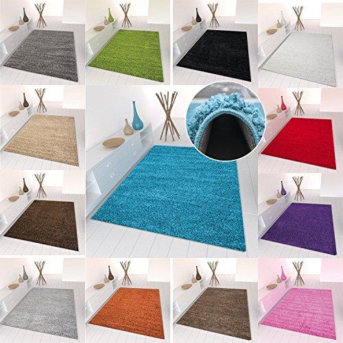 star shaggy teppich farbe hochflor langflor teppiche modern f r wohnzimmer schlafzimmer uni. Black Bedroom Furniture Sets. Home Design Ideas