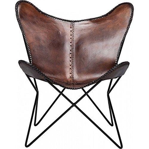 KARE Vintage Sessel Butterfly Eco Leder