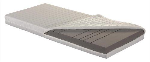 Betten-ABC OrthoMatra KSP-500 XXL, Orthopädische 7-Zonen Kaltschaummatratze, Härtegrad H4, Gesamthöhe 16 cm, abnehmbarer und waschbarer Bezug, Größe: 90 x 200 cm