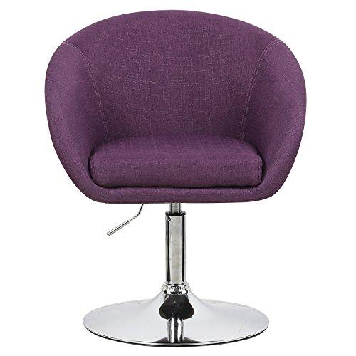 woltu bh61la 1 a 1 x lounge barsessel sessel design barhocker drehbar stufenlose. Black Bedroom Furniture Sets. Home Design Ideas