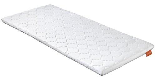 sleepling 19000000174 Topper Basic Viscoschaum 140 x 200 cm, weiß