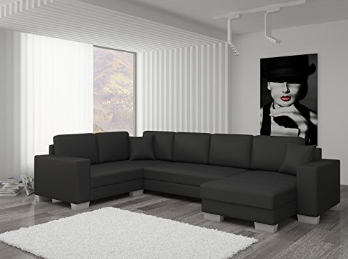 Couch Couchgarnitur Sofa Polsterecke MC 10 U Wohnlandschaft Schlaffunktion