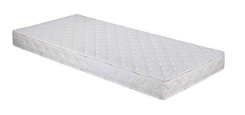 Badenia 3887860159 Bettcomfort Roll-Komfortmatratze, Trendline BT 100 H2 90 x 200 cm, weiß