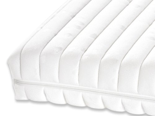Badenia 3888204125 Bettcomfort Kindermatratze, Irisette Junior 70 x 140 cm, weiß