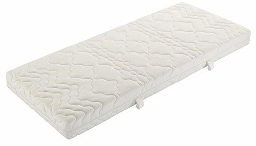 Badenia 3888710132 Bettcomfort Tonnentaschenfedernmatratze Trendline BT 200 H3, 100 x 200 cm weiß