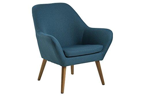 AC Design Furniture 58876 Loungestuhl Lulu, Stoff petrol