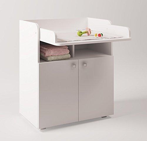 polini kids babyzimmer set mit babybett gitterbett und wickelkommode inclusive matratze in. Black Bedroom Furniture Sets. Home Design Ideas