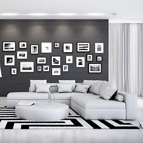 Wohn-Landschaft in Wildleder-Optik 240x220 cm L-Form weiß | Irava | Design Couch-Garnitur mit Recamiere links und vielen Kissen| Sofa-Ecke für Wohnzimmer weiss 240cm x 220cm