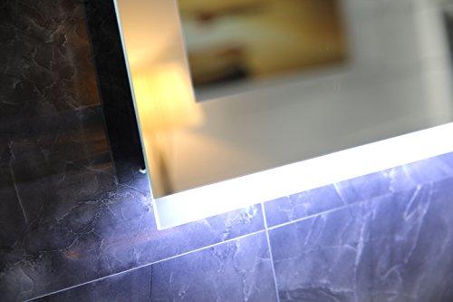 Design led beleuchtung badspiegel gs043 lichtspiegel wandspiegel mit touch schalter - Badspiegel led touch ...