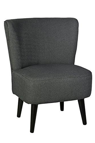 Sessel Stuhl Loungesessel dunkel grau *443