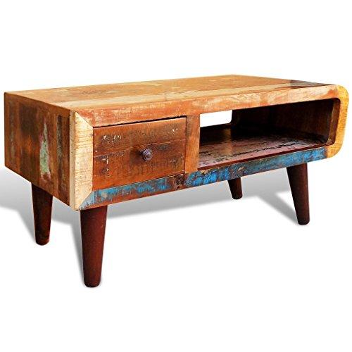 vidaxl vintage couchtisch used look beistelltisch 2. Black Bedroom Furniture Sets. Home Design Ideas