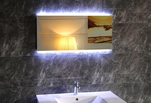 design led beleuchtung badspiegel gs043 lichtspiegel wandspiegel mit touch schalter. Black Bedroom Furniture Sets. Home Design Ideas
