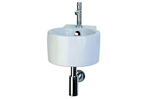 Waschbecken Waschtisch für Gäste WC 3 TEILE SET Keramik Handwaschbecken