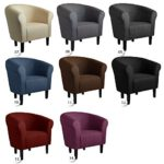 """Clubsessel Loungesessel Cocktailsessel """"MONACO 2"""" Sawanna Beige W364 07"""