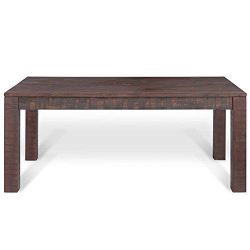 Vidaxl massivholz couchtisch beistelltisch wohnzimmer for Moebel24 shop