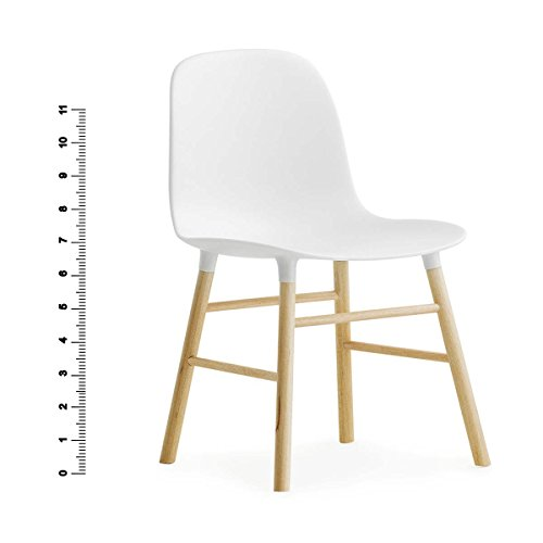 Form Chair Miniature white H: 13,3 x L: 7,9 D: 8,7 cm