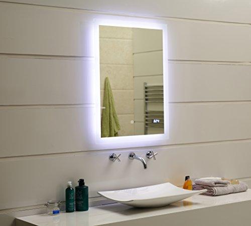 Led Design Lichtspiegel Badspiegel Wandspiegel: Design LED-Beleuchtung Badspiegel GS084D Dimmbar