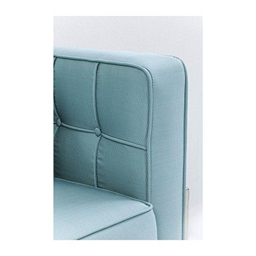 Sofa Loft türkis 3Sitzer Kare Design 3