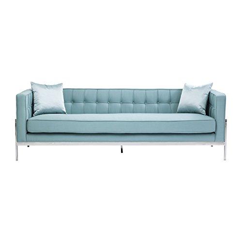 Sofa Loft türkis 3Sitzer Kare Design