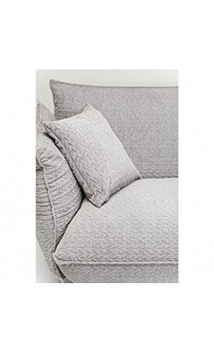 Kare Design Sofa Molly 3-Sitzer B205xT90xH80 grau 7